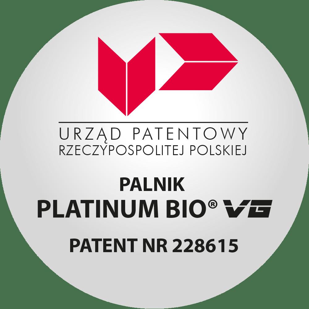Palnik Platinum Bio VG - wynalazek chroniony patentem