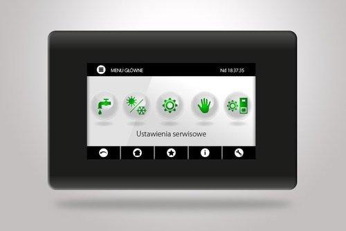 Automatyka Platinum Bio ecoMAX 860P TOUCH z kolorowym, dotykowym panelem operatorskim