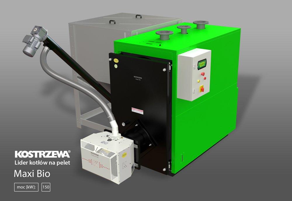 Kocioł Maxi Bio 150 kW